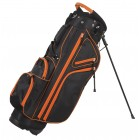 Courier 3.0 Stand Bag - Black/Orange