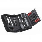25 pc. Mini Tool Set in Zippered Tri-Fold Case