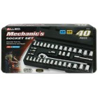 40 pc. Socket Set w/ Storage Case