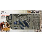 205 pc. Home Repair Set in Layout Packaging