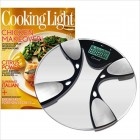 Body Fat/Body Water Bath Scale & Cooking Light Subscription