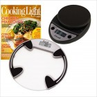 Glass Bath Scale, Primo Scale & Cooking Light Subscription