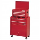 6-Drawer Friction Tool Center with Parts Bins
