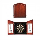 Accudart Union Jack Plain Solid Pine Dartboard Cabinet Set