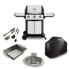 SIGNET™ LP Grill, Cover, Wok, Chicken Roaster w/ Pan, Tools (986854, 68487, 69818, 69133, 64004)