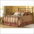 Fashion Bed Dexter King Size Bed Hammered Brown Finish