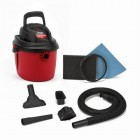 2.5 Gallon, 2.5 Peak HP portable wet/dry vacuum