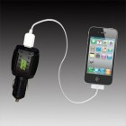 Car Charger kit for cell phones, iPod and Blackberry.