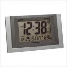 Radio Control Wall Clock with Month, Day, Date, Temperature