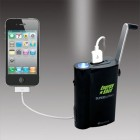 SuperBattery Cell phone/MP3 USB charger w Crank generator