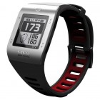 GPS Golf Watch Silver and Black