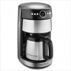 Coffee Maker Contour Silver
