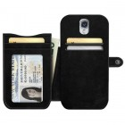 GALAXY S4 Wallet Case Black