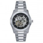 Men's Automatic Silver-Tone Dress Watch