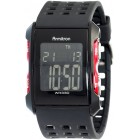 Men's Chronograph Black and Red Digital Sport Watch