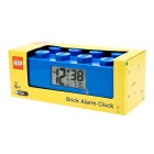 Blue Brick Alarm Clock