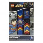 DC Universe Super Heroes Superman Minifigure Link Watch