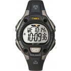 Unisex Ironman Traditional 30-Lap Black and Gray Resin Strap Watch