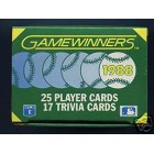1988 Sportflics Gamewinners set of 25 baseball cards (Will Clark Roger Clemens Rickey Henderson Mike Schmidt)