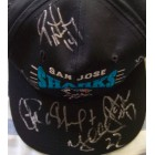 1994-95 San Jose Sharks autographed cap or hat (Jeff Friesen Igor Larionov Ray Whitney)