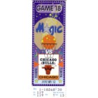 1993 Chicago Bulls (NBA Champions) at Orlando Magic ticket stub MINT
