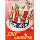 1955-56 Harlem Globetrotters basketball program or yearbook