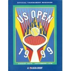 1999 U.S. Open tennis program (Andre Agassi & Serena Williams)