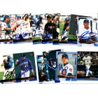 14 different autographed 2000 Upper Deck baseball cards (Mike Hampton Jose Hernandez Todd Hollandsworth Todd Hundley Eric Young)