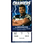 2003 Denver Broncos at San Diego Chargers ticket stub