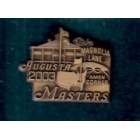 2003 Masters brass pin (Mike Weir)