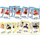 2008 AFLAC Bowman Rookie Card partial set (Ian Krol David Nick Keyvius Sampson)