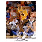 A.C. Green autographed Los Angeles Lakers 8x10 photo