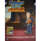 Adam West Family Guy Online 2011 Comic-Con promo poster