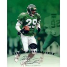 Adrian Murrell certified autograph New York Jets 1997 Leaf 8x10 photo card