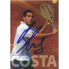 Albert Costa autographed 2000 ATP Tour tennis card