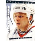 Alexei Zhamnov certified autograph 1995 Be A Player card