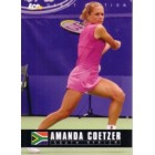 Amanda Coetzer 2005 Ace Authentic card