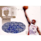 Amare Stoudemire certified autograph 2002 SAGE Gold card #67/120