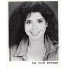 Ana Helena Berenguer autographed 8x10 photo