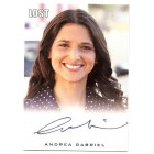 Andrea Gabriel LOST certified autograph card