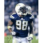 Antwan Barnes autographed San Diego Chargers 8x10 photo