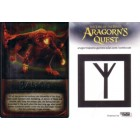 Aragorn's Quest 2010 Comic-Con Balrog Lord of the Rings promo card