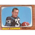 Billy Cannon Raiders 1966 Topps card #106 VgEx