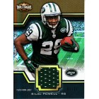 Bilal Powell New York Jets 2011 Topps Triple Threads game worn jersey card #6/27