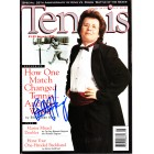 Billie Jean King autographed 1998 Tennis magazine