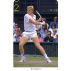 Boris Becker 1987 Fax-Pax Rookie Card