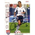 Brandi Chastain autographed 2004 U.S. Soccer card