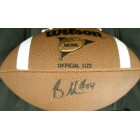 Brandon Graham autographed Wilson NCAA football