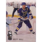 Brett Hull Blues 1993-94 Ultra Scoring King insert card #3