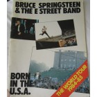 Bruce Springsteen Born in the U.S.A. World Tour 1984-85 original program
